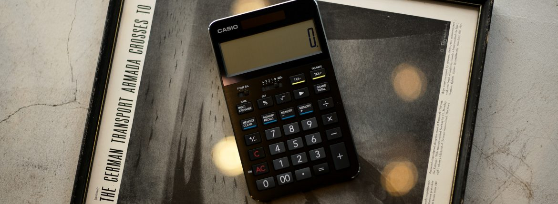 CASIO CALCULATOR S100のイメージ