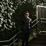 Cuervo (クエルボ) Satisfaction Leather Collection (サティスファクション レザー コレクション) East West(イーストウエスト)  SMOKE(スモーク) BUFFALO LEATHER (バッファロー レザー) レザージャケット BLACK(ブラック) MADE IN JAPAN (日本製) 2019 春夏 【ご予約受付中】のイメージ