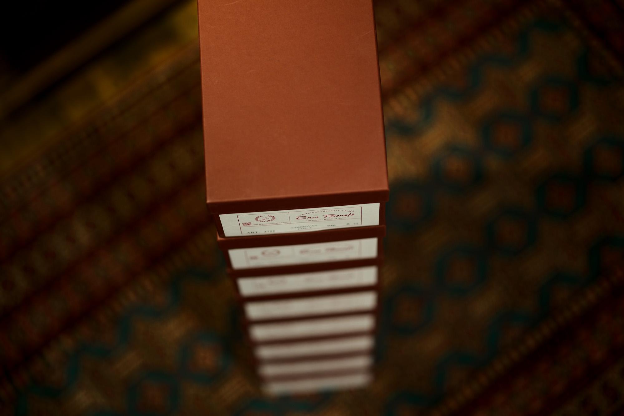ENZO BONAFE(エンツォボナフェ) ART.3722 Chukka boots チャッカブーツ Horween Shell Cordovan Leather ホーウィン社 シェルコードバンレザー ノルベジェーゼ製法 チャッカブーツ コードバンブーツ No.4(#4)  made in italy (イタリア製) 2019 春夏新作 enzobonafe 愛知 名古屋 altoediritto アルトエデリット