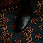 Georges de Patricia(ジョルジュ ド パトリシア) Diablo (ディアブロ) 925 STERLING SILVER (925 スターリングシルバー) Shrunken Calf (シュランケンカーフ) サイドゴアブーツ NOIR (ブラック) 2019 春夏 【Special Boots】のイメージ
