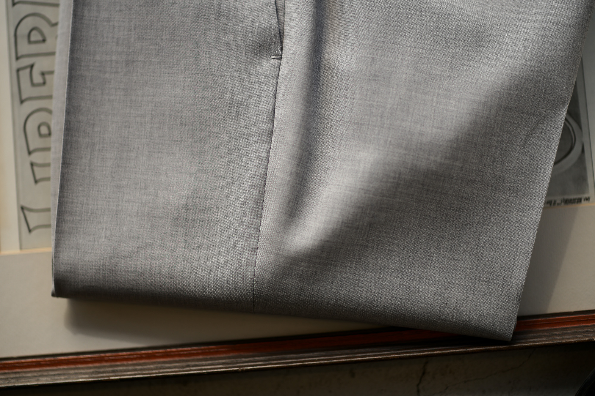 INCOTEX (インコテックス) N35 SLIM FIT (1NT035) SUPER 100'S YARN DYED TROPICAL トロピカルウール サマーウール スラックス LIGHT GRAY (ライトグレー・901) 2019 春夏新作 愛知 名古屋 altoediritto アルトエデリット