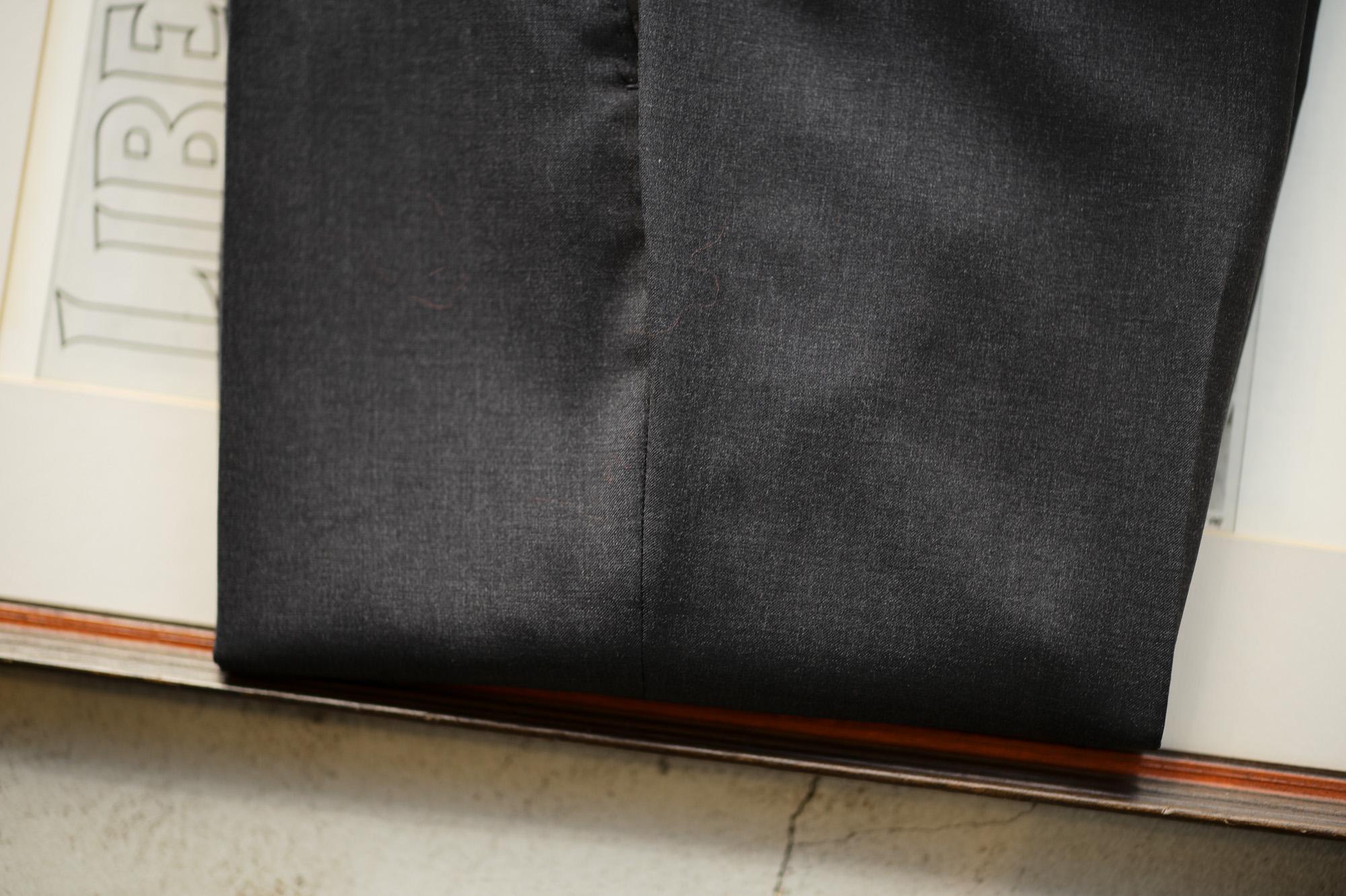 INCOTEX (インコテックス) N35 SLIM FIT (1NT035) SUPER 100'S YARN DYED TROPICAL トロピカルウール サマーウール スラックス CHARCOAL GRAY (チャコールグレー・935) 2019 春夏新作 愛知 名古屋 altoediritto アルトエデリット