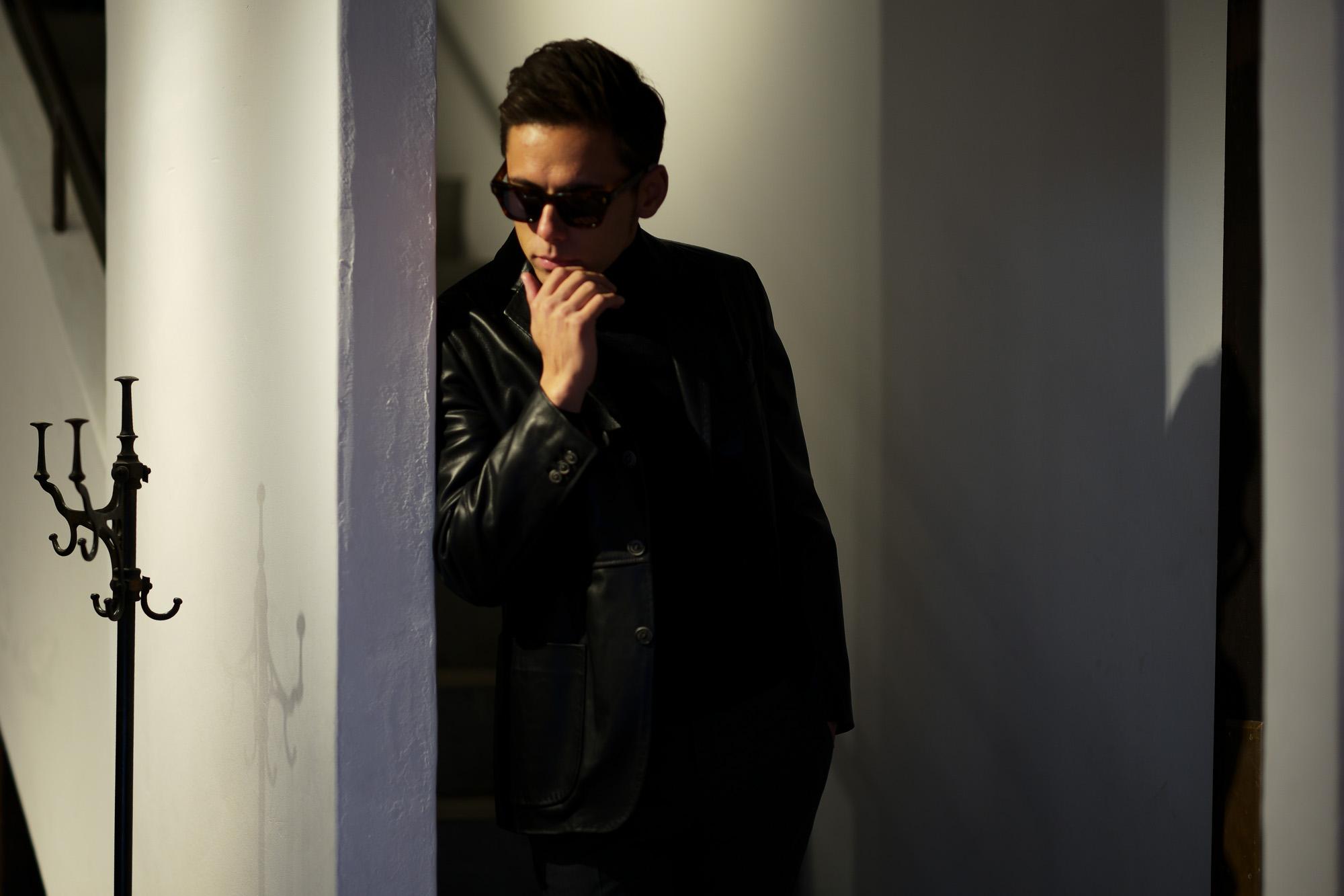 JACQUESMARIEMAGE (ジャックマリーマージュ) DEALAN (ディラン) Bob Dylan (ボブ・ディラン) 18K GOLD ゴールドパーツ ウェリントン型 アイウェア サングラス HAVANA2 (ハバナ 2) HANDCRAFTED IN JAPAN (日本製) 2019 春夏新作 愛知 名古屋 alto e diritto アルトエデリット