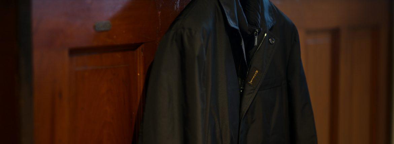 MOORER (ムーレー) SINJUKU-KM (シンジュク) Chester Coat ナイロン ダウンベスト付き シングル チェスターコート VISONE (ベージュ・32) , MARMOTIA(ブラウン・33) , BOSCO(オリーブ・55) , LAVAGUA(チャコール・74) , BLUE(ブルー・76) , NERO(ブラック・08) Made in italy (イタリア製) 【2019 秋冬 受注会開催 2019.1.12~2019.1.20】愛知 名古屋 altoediritto アルトエデリット ダウンジャケット