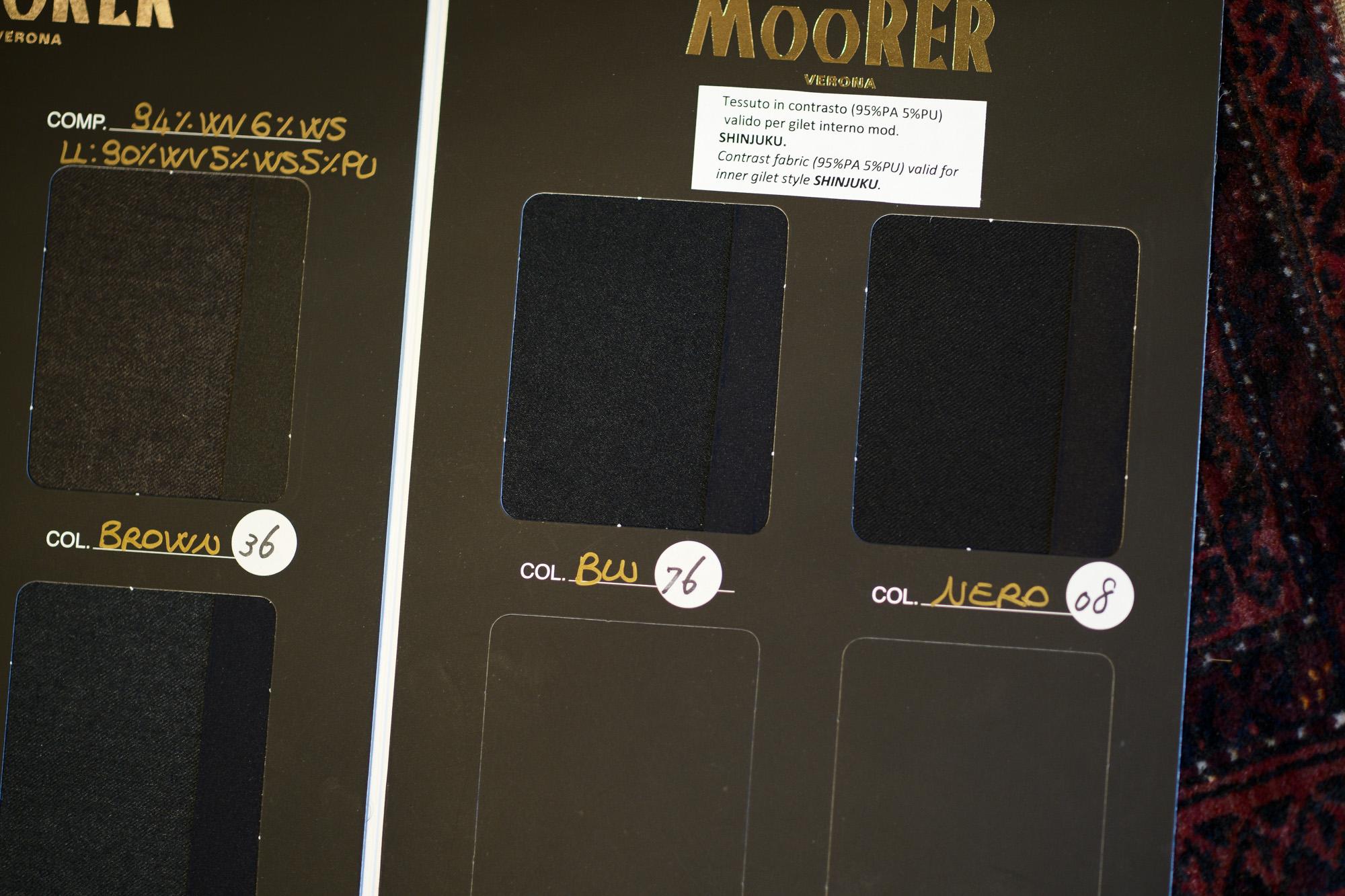 MOORER (ムーレー) SIRO-L (シロ) LoroPiana (ロロピアーナ) ウールカシミア ダブルブレスト ダウン ジャケット BEIGE (ベージュ) , BROWN(ブラウン) , ANTRACITE(チャコールグレー) , BLUE GREY(ブルーグレー) , BLUE(ブルー) , NERO(ブラック) , Made in italy (イタリア製) 【2019 秋冬 受注会開催 2019.1.12~2019.1.20】 愛知 名古屋 altoediritto アルトエデリット ダウンジャケット