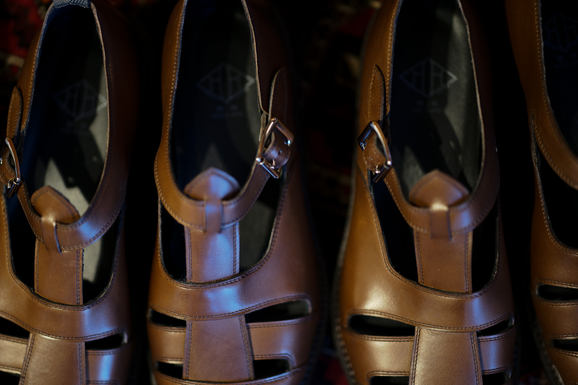 WH (ダブルエイチ) WH-0900 Gurkha Sandals Birdie Last (バーディラスト) ANNONAY Vocalou Calf Leather グルカサンダル ANT BROWN (アンティークブラウン) MADE IN JAPAN (日本製) 2019 春夏新作 wh0900 サンダル グルカ altoediritto アルトエデリット