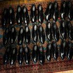 WH (ダブルエイチ) WHS-0110 Straight chip Shoes (干場氏 スペシャル モデル) Trench Last (トレンチラスト) ANNONAY Vocalou Calf Leather ストレートチップ シューズ BLACK (ブラック) MADE IN JAPAN(日本製) 2019 春夏新作【2019春夏フリー分発売中】のイメージ