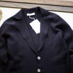 Cruciani (クルチアーニ) Milano Rib Jacket (ミラノリブ ジャケット) 2B コットン ミラノリブ ジャケット NAVY (ネイビー・469BS) made in italy (イタリア製) 2019 春夏新作 愛知 名古屋 altoediritto アルトエデリット