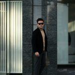 Cuervo (クエルボ) Sartoria Collection (サルトリア コレクション) Lobb (ロブ) Cashmere カシミア 3B ジャケット BLACK (ブラック) MADE IN JAPAN (日本製) 2019 春夏新作 【第2便ご予約受付開始】のイメージ