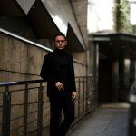 Cuervo (クエルボ) Sartoria Collection (サルトリア コレクション) Lobb (ロブ) Cashmere カシミア 3B ジャケット BLACK (ブラック) MADE IN JAPAN (日本製) 2019 春夏新作 【第2便ご予約受付中】のイメージ