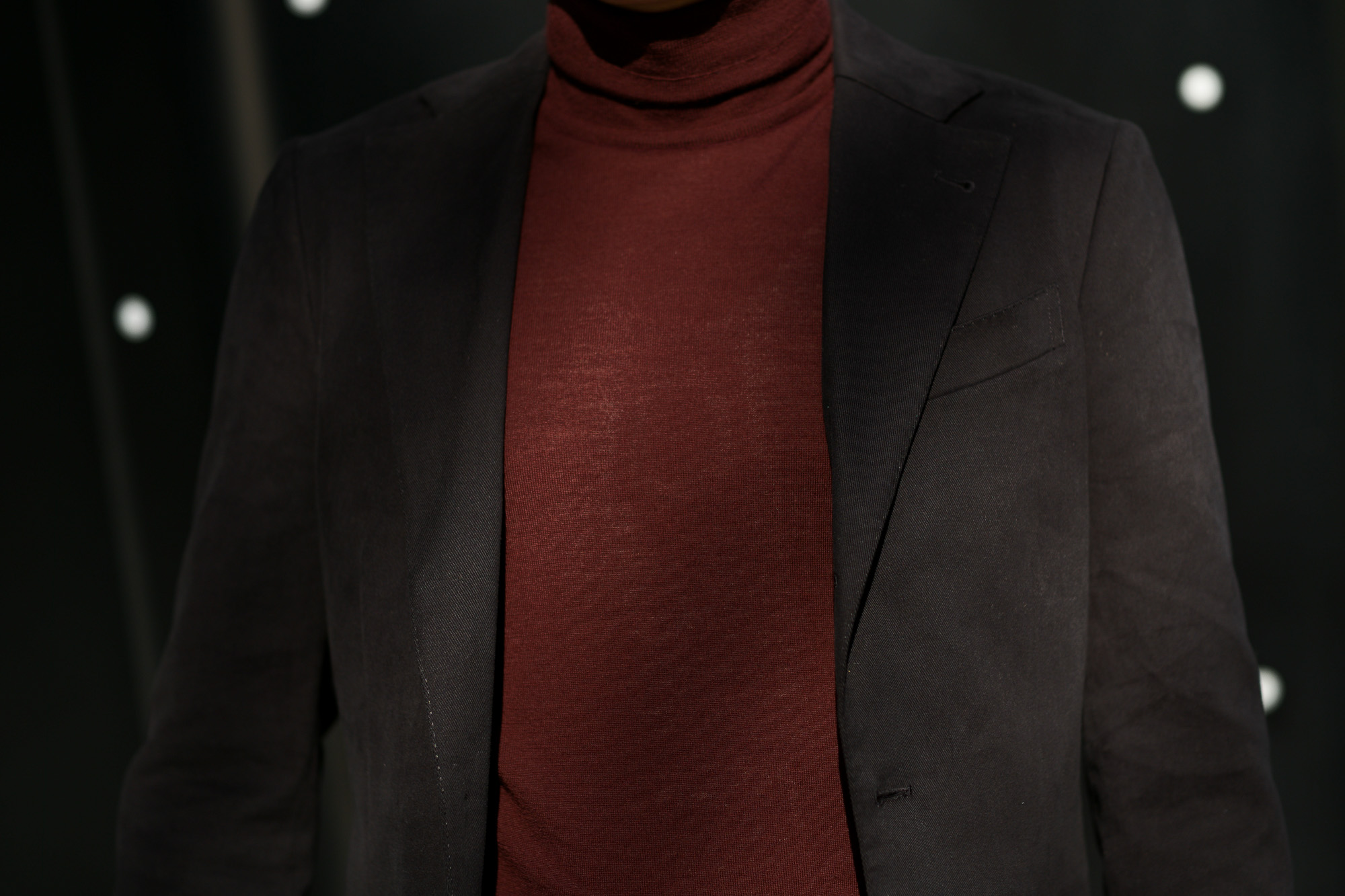 Cuervo (クエルボ) Sartoria Collection (サルトリア コレクション) Rooster (ルースター) STRETCH COTTON ストレッチコットン スーツ BLACK (ブラック) MADE IN JAPAN (日本製) 2019 春夏新作 【第2便ご予約受付開始】 alto e diritto アルトエデリット