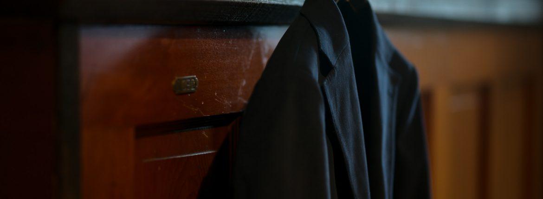 Cuervo (クエルボ) Sartoria Collection (サルトリア コレクション) Rooster (ルースター) STRETCH COTTON ストレッチコットン スーツ NAVY (ネイビー) MADE IN JAPAN (日本製) 2019 春夏新作のイメージ