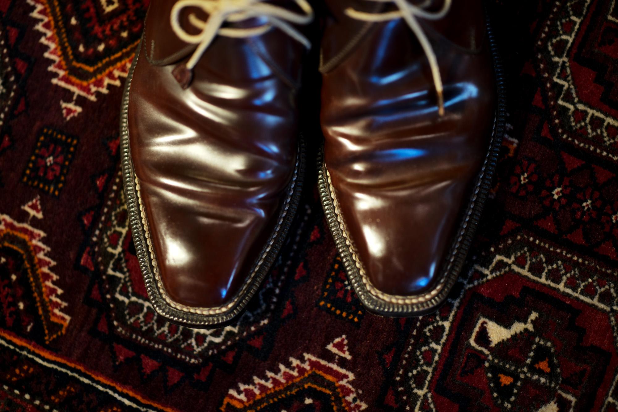 ENZO BONAFE(エンツォボナフェ) ART.3722 Chukka boots チャッカブーツ Horween Shell Cordovan Leather ホーウィン社 シェルコードバンレザー ノルベジェーゼ製法 チャッカブーツ コードバンブーツ No.8(バーガンディー)  made in italy (イタリア製) 2019 秋冬 愛知 名古屋 Alto e Diritto アルト エ デリット エンツォボナフェ コードバン チャッカ 5.5,6,6.5,7,7.5,8,8.5,9,9.5