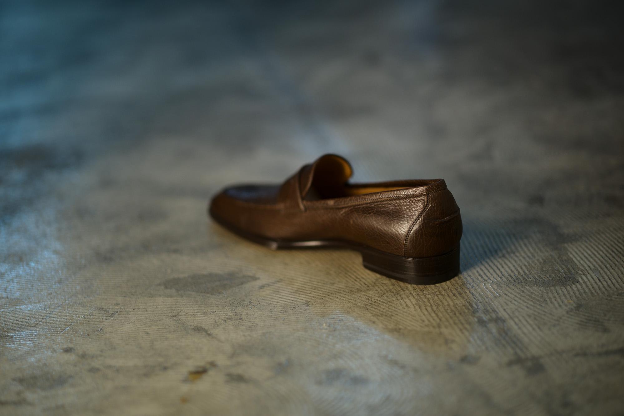 ENZO BONAFE (エンツォボナフェ) ART. EB-08 Crocodile Coin Loafer (クロコダイル コイン ローファー) Mat Crocodile Leather マット クロコダイル レザー ドレスシューズ ローファー COCCO DARK BROWN (ブラウン) made in italy (イタリア製) 2019 秋冬 【ご予約受付開始】  愛知 名古屋 enzobonafe エンツォボナフェ eb08 ローファー zodiac nagoya alto e diritto altoediritto アルトエデリット