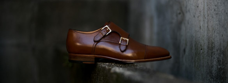 ENZO BONAFE (エンツォボナフェ) ART.EB-27 Double Monk Strap Shoes Horween Shell Cordovan Leather ホーウィン社シェルコードバンレザー ダブルモンクストラップシューズ BOURBON (バーボン) made in italy (イタリア製) 2019 秋冬新作 enzobonafe ダブルモンク ドレス ボナフェ レザーシューズ 愛知 名古屋 Alto e Diritto アルト エ デリット