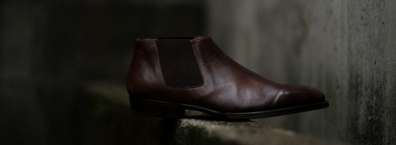 ENZO BONAFE (エンツォボナフェ) CARY GRANT III Side gore Boots サイドゴアブーツ MUSEUM CALF(ミュージアムカーフ) ドレスシューズ ドレスブーツ DARK BROWN(ダークブラウン) made in italy (イタリア製) 2019 秋冬のイメージ