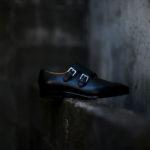 ENZO BONAFE(エンツォボナフェ) EB-36 Double Monk Strap Shoes INCA Leather ダブルモンクストラップシューズ NERO (ブラック) made in italy (イタリア製) 2019 秋冬 enzobonafe eb36 エンツォボナフェ altoediritto アルトエデリット