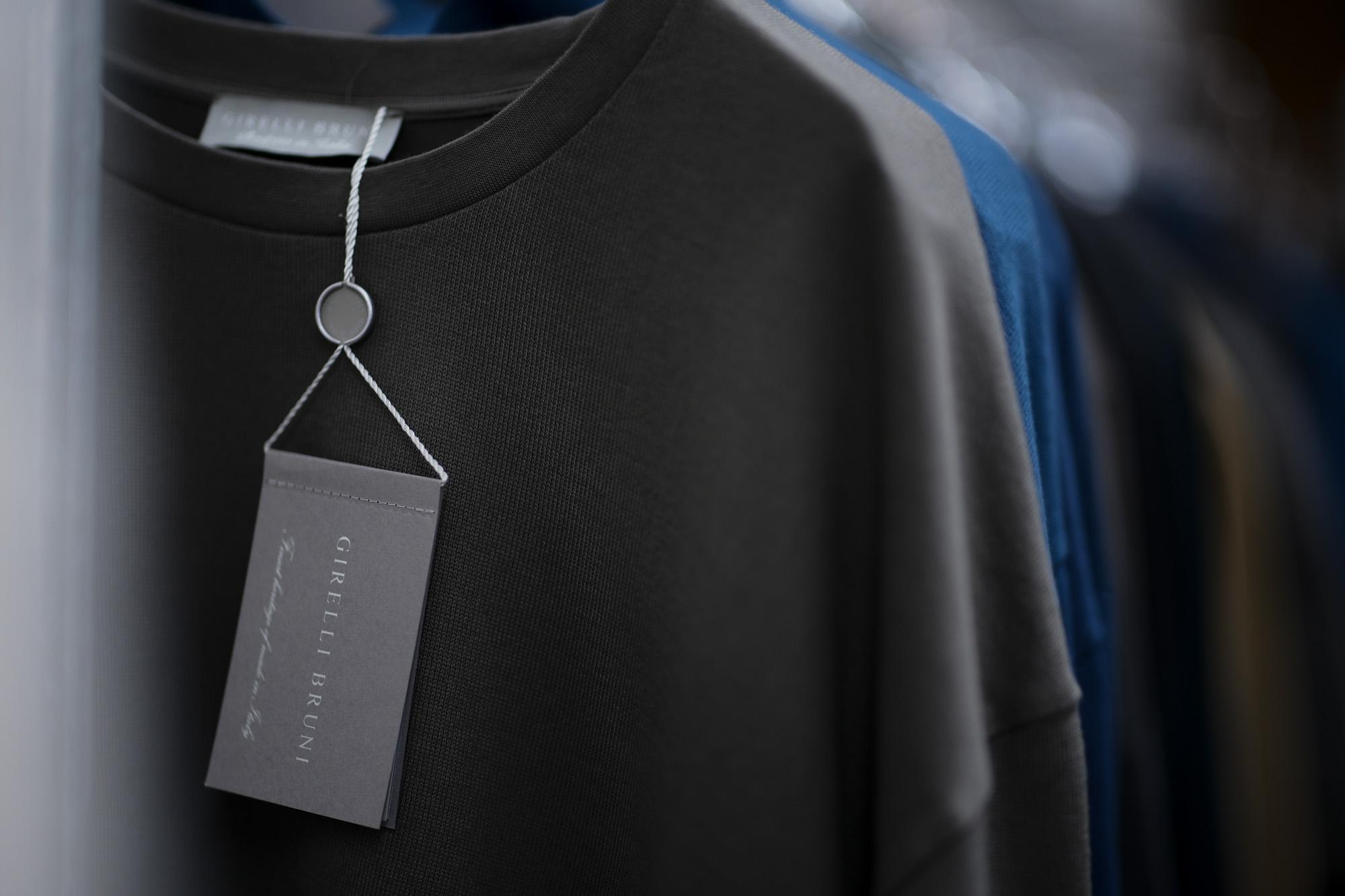 Girelli Bruni / ジレリブルーニ (2019 秋冬展示会) girellibruni Tシャツ カットソー 愛知 名古屋 altoediritto アルトエデリット 白Tシャツ 黒Tシャツ