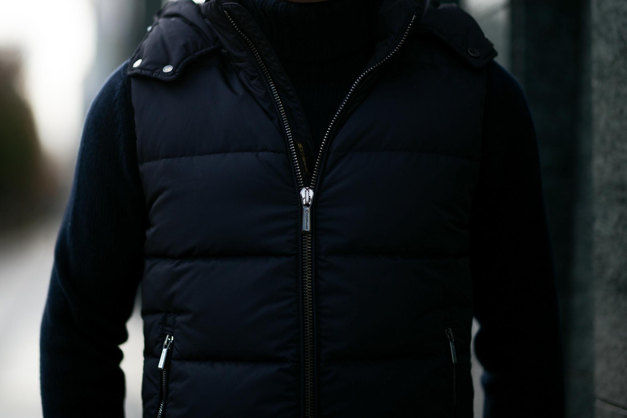MOORER (ムーレー) FAYER-KM (フェイヤー) ナイロン ダウン ベスト VISONE (ベージュ・32) , MARMOTIA(ブラウン・33) , NERO(ブラック・08) Made in italy (イタリア製)【2019 秋冬分 ご予約受付中】 愛知 名古屋 altoediritto アルトエデリット ダウンジャケット