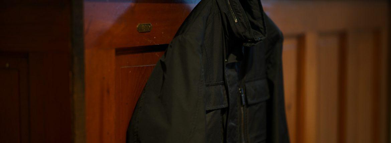 MOORER (ムーレー) MANOLO-KM (マノロ) M-65 フィールド ナイロン ジャケット NERO (ブラック) Made in italy (イタリア製) 2019 春夏新作 ミリタリージャケット 愛知 名古屋 altoediritto-アルトエデリット