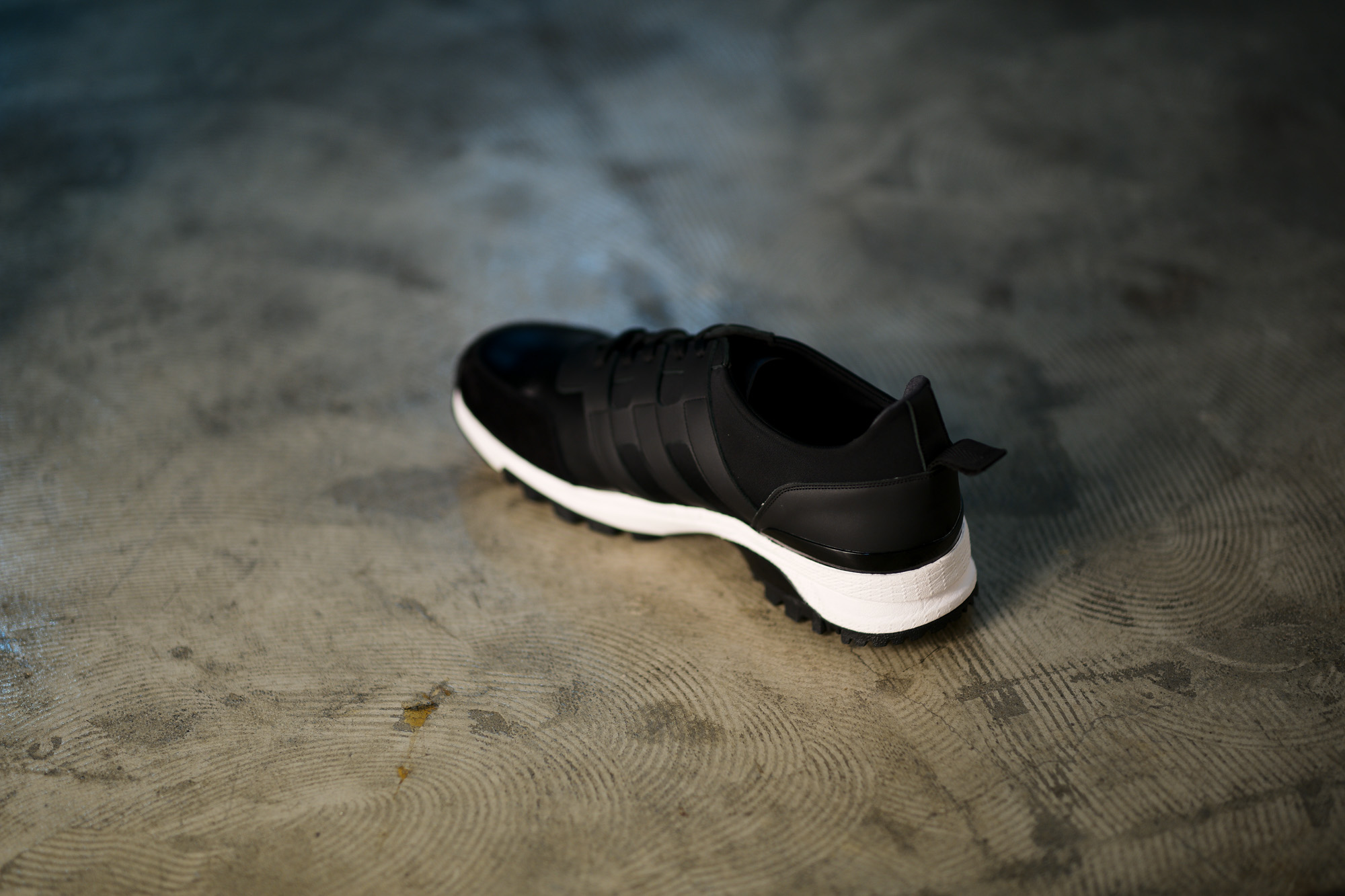 WH (ダブルエイチ) WH-0111 Faster Last(ファスターラスト) Sneakers スニーカー BLACK×WHITE (ブラック×ホワイト) MADE IN JAPAN (日本製) 2019 秋冬【ご予約受付開始】 愛知 名古屋 alto e diritto altoediritto アルトエデリット