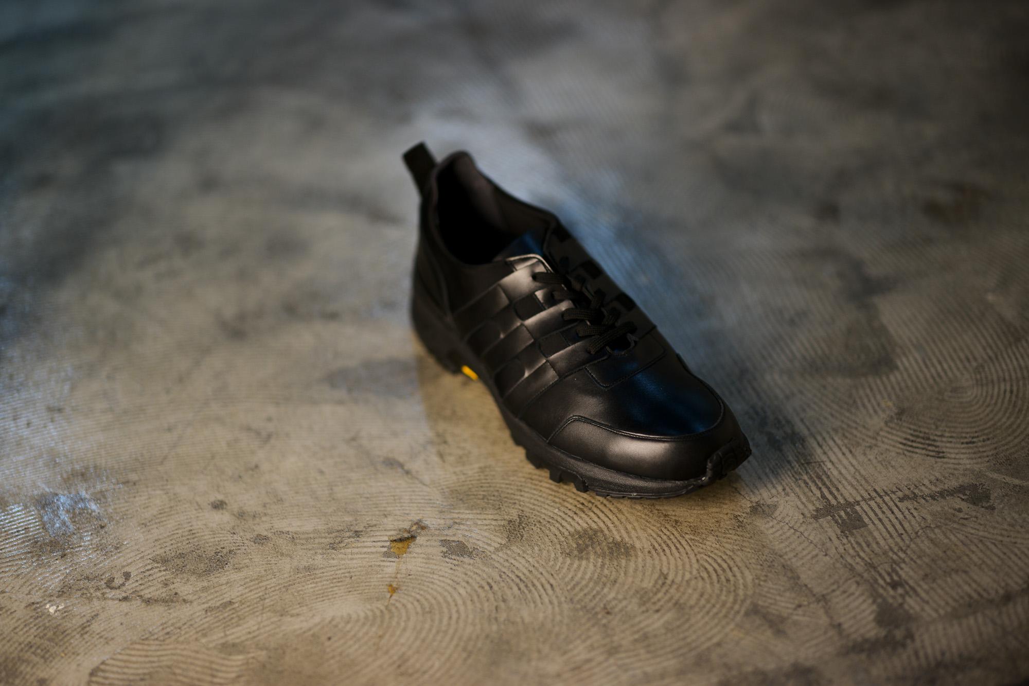 WH (ダブルエイチ) WH-0111 Faster Last(ファスターラスト) Sneakers スニーカー BLACK×BLACK (ブラック×ブラック) MADE IN JAPAN (日本製) 2019 秋冬【ご予約受付開始】 愛知 名古屋 alto e diritto altoediritto アルトエデリット