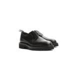 WH (ダブルエイチ) WHS-0010 Plane Toe Shoes (干場氏 スペシャル) Birdie Last (バーディラスト) ANNONAY Vocalou Calf Leather プレーントゥシューズ BLACK (ブラック) MADE IN JAPAN (日本製) 2019 春夏 【ご予約受付中】のイメージ