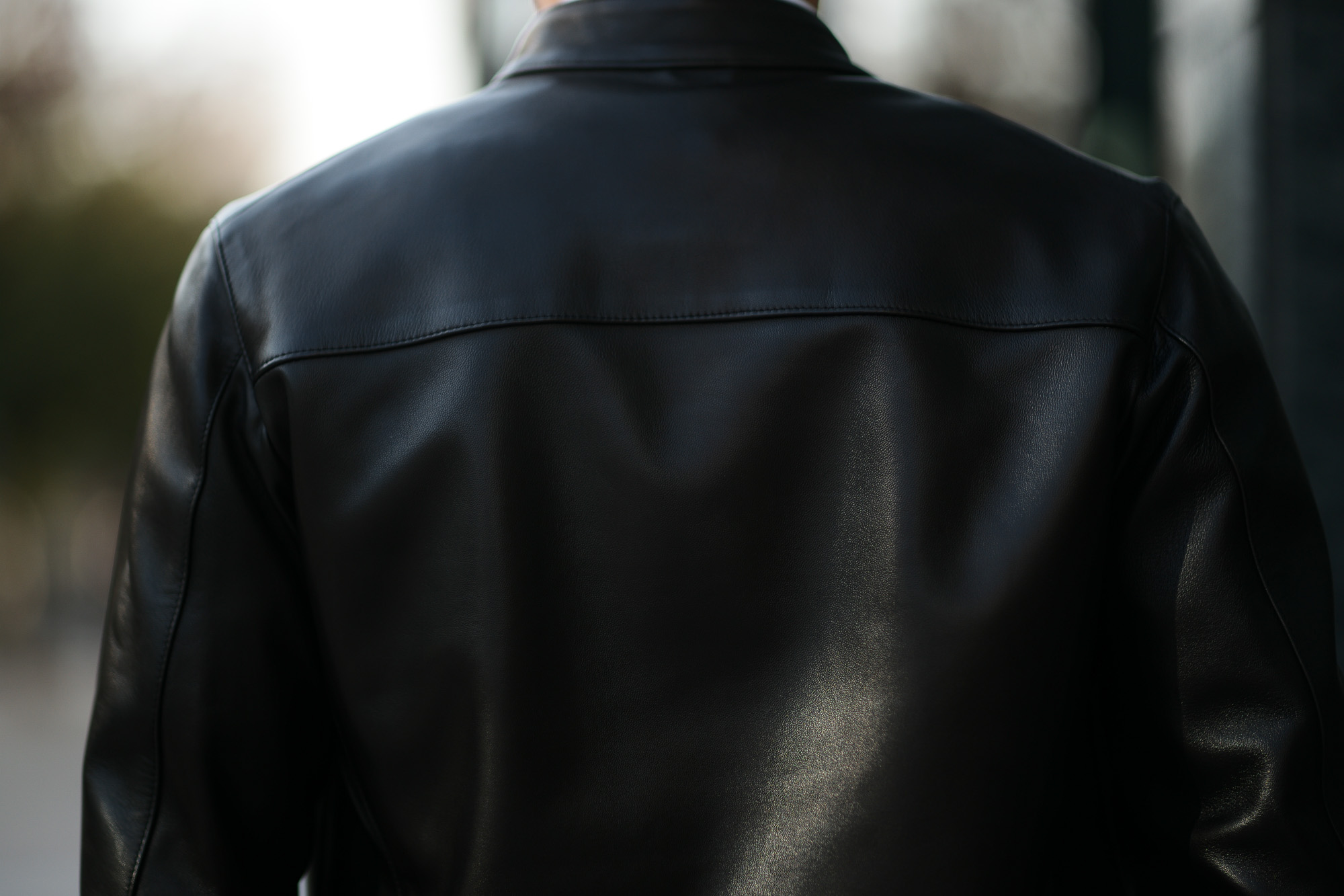 CINQUANTA(チンクアンタ) H502 STAND COLLAR RIDERS (スタンド カラー ジャケット) NAPPA LEATHER ナッパレザー シングル ライダース ジャケット BLACK GOLD (ブラック ゴールド・999) Made in italy (イタリア製) 2019 秋冬 【第1便ご予約受付中】 cinquanta チンクアンタ レザージャケット 愛知 名古屋 Alto e Diritto アルト エ デリット アルトエデリット