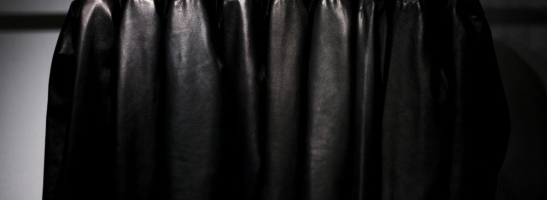 Cuervo (クエルボ) Satisfaction Leather Collection (サティスファクション レザー コレクション) TOM (トム) BUFFALO LEATHER (バッファロー レザー) シングル ライダース ジャケット BLACK (ブラック) MADE IN JAPAN (日本製) 2019 春夏新作【第1便入荷しました】【フリー分販売開始】のイメージ