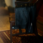 Cuervo (クエルボ) Satisfaction Leather Collection (サティスファクション レザー コレクション) TOM (トム) BUFFALO LEATHER (バッファロー レザー) シングル ライダース ジャケット BLACK (ブラック) MADE IN JAPAN (日本製) 2019 春夏新作のイメージ