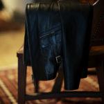 Cuervo (クエルボ) Satisfaction Leather Collection (サティスファクション レザー コレクション) East West(イーストウエスト)  SMOKE(スモーク) BUFFALO LEATHER (バッファロー レザー) レザージャケット BLACK(ブラック) MADE IN JAPAN (日本製) 2019 春夏新作のイメージ
