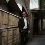 De Petrillo (デ ペトリロ) NAPOLI Posillipo (ナポリ ポジリポ) ストレッチコットン スーツ OLIVE (オリーブ・467) Made in italy (イタリア製) 2019 春夏新作のイメージ