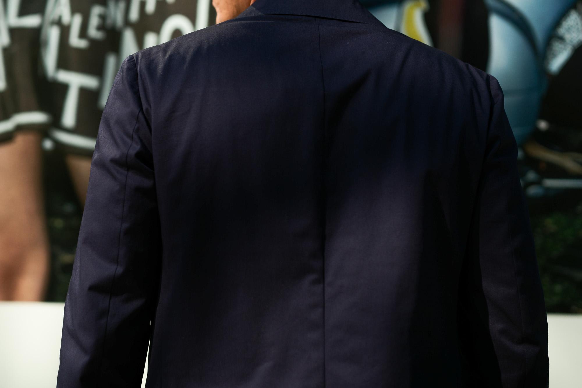 De Petrillo (デ ペトリロ) NUVOLA Anacapri (ヌーボラ アナカプリ) ストレッチコットン 段返り3B ジャケット NAVY (ネイビー・468) Made in italy (イタリア製) 2019 春夏新作 depetrillo 愛知 名古屋 alto e diritto アルトエデリット スーツ ジャケット チノスーツ チノジャケット