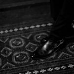 ENZO BONAFE(エンツォボナフェ) ART.3995 Double strap boot Du Puy Vitello デュプイ社ボックスカーフ ダブルストラップブーツ NERO (ブラック) made in italy (イタリア製) 2019 秋冬 【ご予約受付中】のイメージ