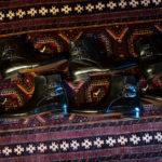 ENZO BONAFE(エンツォボナフェ) ART.3995 Double strap boot Du Puy Vitello デュプイ社ボックスカーフ ダブルストラップブーツ NERO (ブラック) made in italy (イタリア製) 2019 春夏新作のイメージ