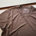 FEDELI (フェデーリ) Crew Neck T-shirt (クルーネック Tシャツ) ギザコットン Tシャツ BROWN (ブラウン・902) made in italy (イタリア製) 2019 春夏新作のイメージ