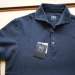 FEDELI (フェデーリ) Piquet Polo Shirt (ピケ ポロシャツ) カノコ ポロシャツ NAVY(ネイビー・2) made in italy (イタリア製) 2019 春夏新作のイメージ