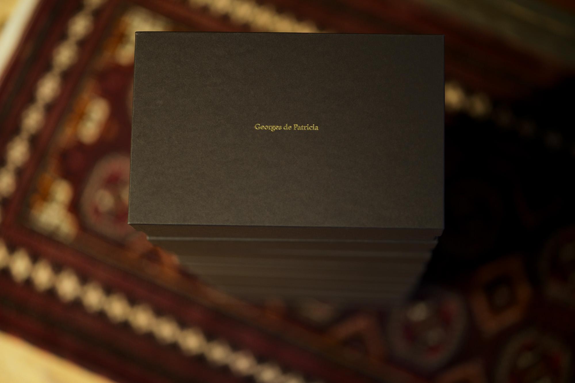 Georges de Patricia(ジョルジュ ド パトリシア) Diablo (ディアブロ) 925 STERLING SILVER (925 スターリングシルバー) Shrunken Calf (シュランケンカーフ) サイドゴアブーツ NOIR (ブラック) 2019 春夏新作 【Special Boots】アルトエデリット ジョルジュドパトリシア ブーツ 超絶ブーツ ランボルギーニ ディアブロ lamborghini