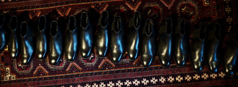 Georges de Patricia(ジョルジュ ド パトリシア) Diablo (ディアブロ) 925 STERLING SILVER (925 スターリングシルバー) Shrunken Calf (シュランケンカーフ) サイドゴアブーツ NOIR (ブラック) 2019 春夏新作 【Special Boots】のイメージ