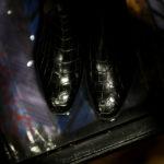 Georges de Patricia(ジョルジュ ド パトリシア) Diablo Crocodile (ディアブロ クロコダイル) 925 STERLING SILVER (925 スターリングシルバー) Crocodile クロコダイル エキゾチックレザー サイドゴアブーツ NOIR (ブラック) 2019 春夏 【Special Boots】アルトエデリット ジョルジュドパトリシア ブーツ 超絶ブーツ ランボルギーニ ディアブロ lamborghini