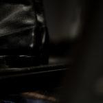 Georges de Patricia (ジョルジュ ド パトリシア) Ulster (アルスター) 925 STERLING SILVER (925 スターリングシルバー) Box Calf×Shrunken Calf (ボックスカーフ×シュランケンカーフ) レザーブーツ NOIR (ブラック) 2019 秋冬 georgesdepatricia ジュルジュドパトリシア アストンマーティン Aston Martin 愛知 名古屋 altoediritto アルトエデリット