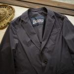 HERNO (ヘルノ) GA0069U Stretch Nylon Jacket (ストレッチ ナイロン ジャケット) 撥水ナイロン 2Bジャケット NAVY (ネイビー・9201) Made in italy (イタリア製) 2019 春夏新作のイメージ