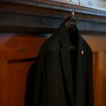 LARDINI (ラルディーニ) Cotton Jersey Jacket (コットン ジャージー ジャケット) LoroPiana (ロロピアーナ) ジャージ ジャケット BLACK (ブラック・7) made in italy (イタリア製) 2019 春夏新作のイメージ