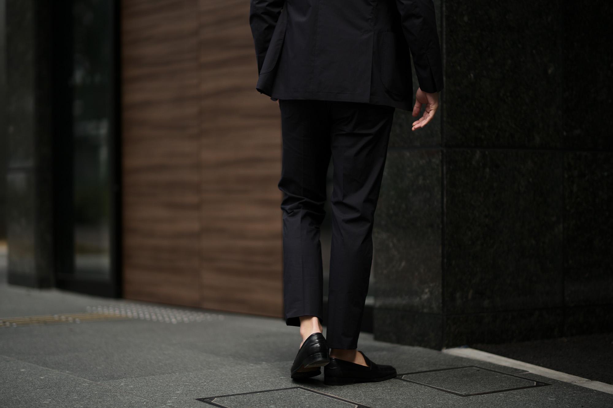 LARDINI (ラルディーニ) EASY WEAR (イージーウエア) Cotton Suit (コットン スーツ) コットン ストレッチ ポプリン スーツ NAVY (ネイビー・4) made in italy (イタリア製) 2019 春夏新作 愛知 名古屋 altoediritto アルトエデリット
