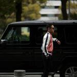 lucien pellat-finet (ルシアン ペラフィネ) Teddy Jacket サテンストライプ テディ ジャケット RED MULTI (レッドマルチ) MADE IN JAPAN (日本製) 2019 春夏新作のイメージ