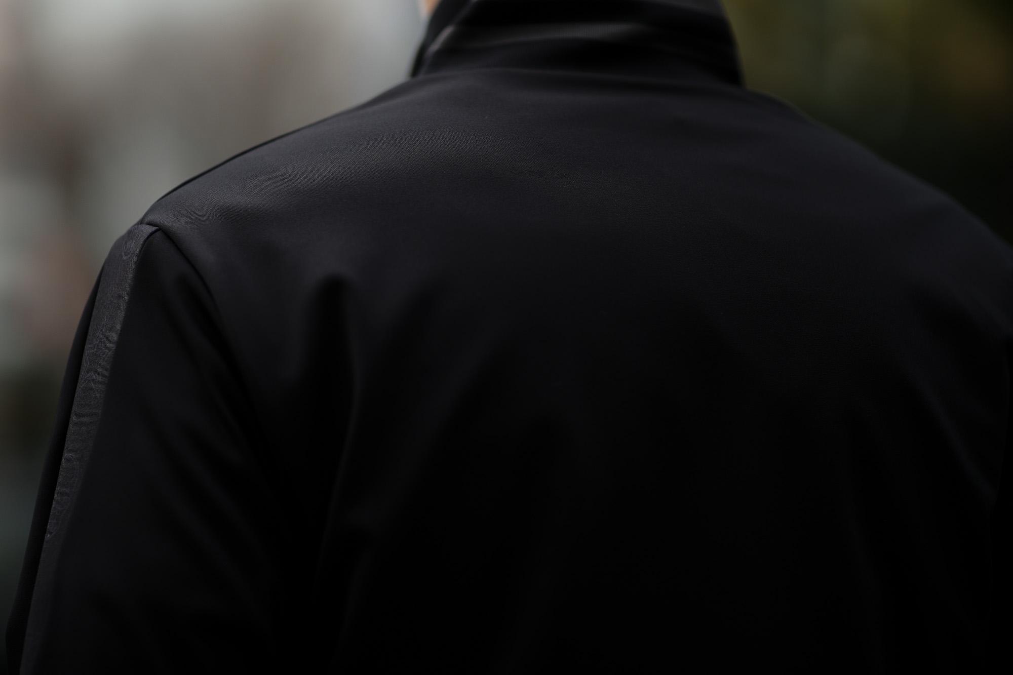 lucien pellat-finet (ルシアン ペラフィネ) Track Jacket スカルスターバンド ハイネック ジップジャケット BLACK (ブラック) MADE IN JAPAN (日本製) 2019 春夏新作 lucienpellatfinet ルシアンペラフィネ alto e diritto アルトエデリット 愛知 名古屋 altoediritto