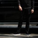 lucien pellat-finet (ルシアン ペラフィネ) Track Pants スカルスターバンド パンツ BLACK (ブラック) MADE IN JAPAN (日本製) 2019 春夏新作のイメージ