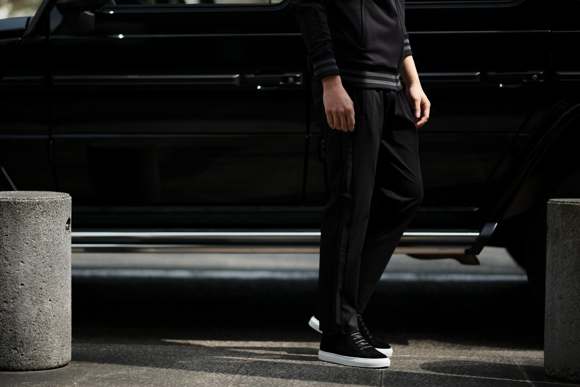 lucien pellat-finet (ルシアン ペラフィネ) Track Pants スカルスターバンド パンツ BLACK (ブラック) MADE IN JAPAN (日本製) 2019 春夏新作 lucienpellatfinet ルシアンペラフィネ alto e diritto アルトエデリット 愛知 名古屋 altoediritto