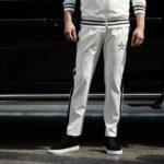 lucien pellat-finet (ルシアン ペラフィネ) Track Pants スカルスターバンド パンツ WHITE (ホワイト) MADE IN JAPAN (日本製) 2019 春夏新作のイメージ