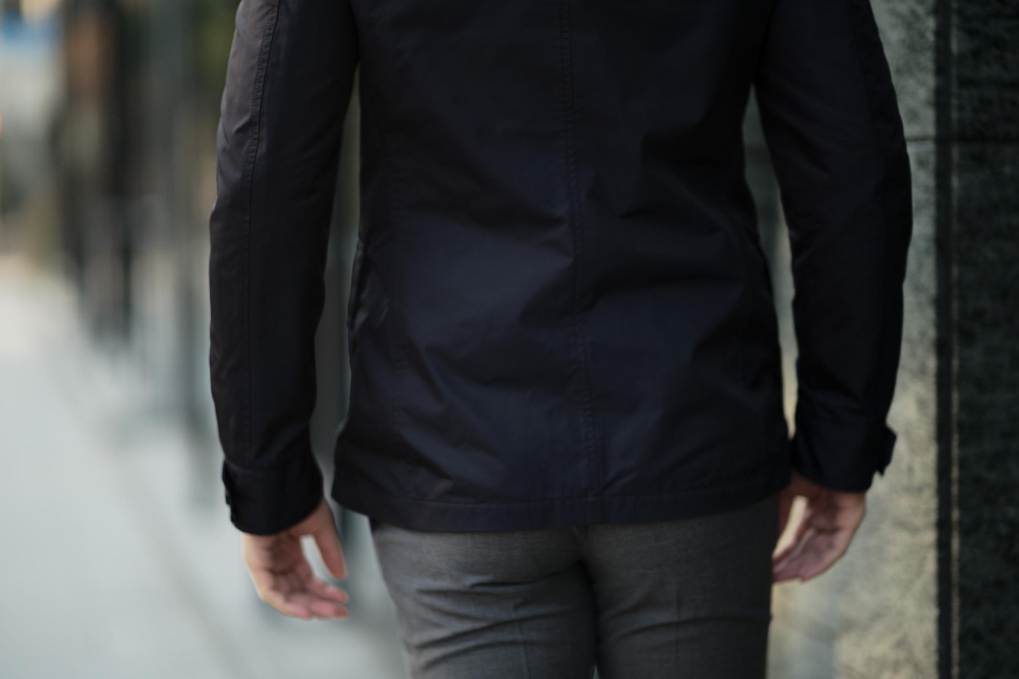 MOORER (ムーレー) PORTO-KM (ポルト) M-65 フィールド ナイロン ジャケット BLU (ネイビー) Made in italy (イタリア製) 2019 春夏新作 愛知 名古屋 Alto e Diritto アルトエデリット